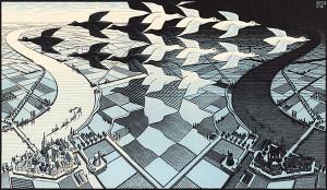 MC-Escher-Day-and-Night-19381