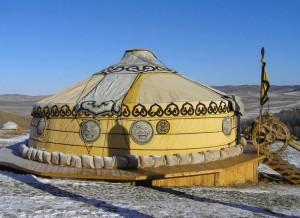 mongolian nomadic tente